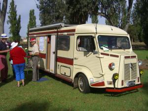 Peter Boyd's H-Van Camper