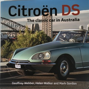 Citroen DS Book Cover